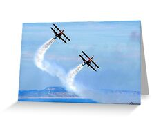 The Only Way To Fly! Greeting Card
