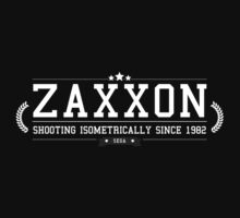 Zaxxon - Retro White Clean by garudoh