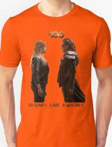 Clexa - Love is weakness Unisex T-Shirt