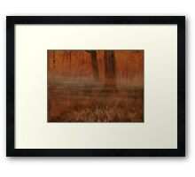 Early Mornin' in Georgia... prints and products Framed Print
