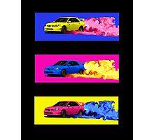 Subaru STi Drift in Color Photographic Print