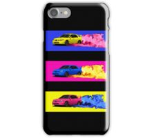 Subaru STi Drift in Color iPhone Case/Skin