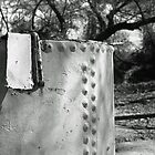 Steel Tank in the Woods by James2001