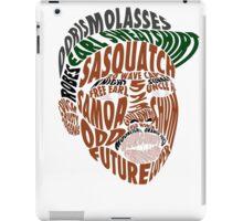 Earl Sweatshirt Typography iPad Case/Skin