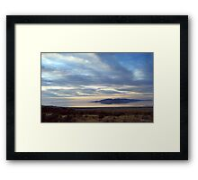Antelope Island Framed Print