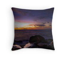 Sunrise @ Clovelly Throw Pillow