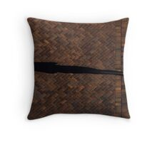 Shadow in First Place Throw Pillow