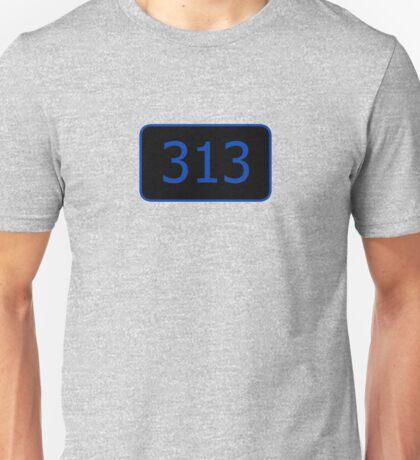 313 (Detroit!) Unisex T-Shirt