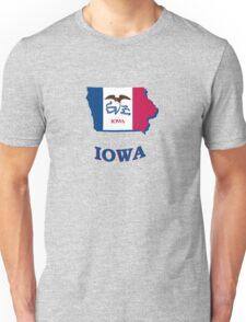 IOWA STATE FLAG Unisex T-Shirt