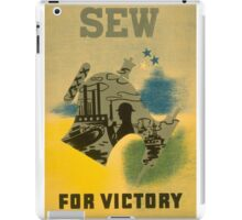 Sew for Victory iPad Case/Skin