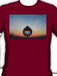 Crystal and Ombre Sunset T-Shirt
