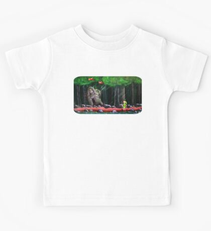 Link's Reminder of the Past  Kids Tee