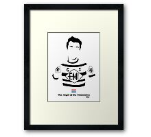 The Angel of the Mountains - Bici* Legendz Collection Framed Print