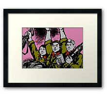 FOR THE PEOPLE Framed Print