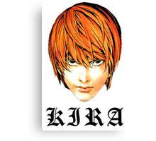 Kira - Death Note Canvas Print