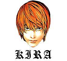 Kira - Death Note Photographic Print