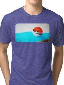 Forgotten Pokeball Tri-blend T-Shirt