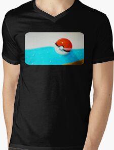 Forgotten Pokeball Mens V-Neck T-Shirt