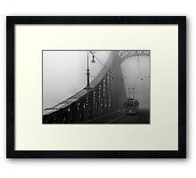 Liberty Bridge, Budapest, Hungary Framed Print