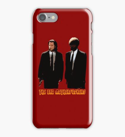 The BAD MOTHERFUCKERS - PULP FICTION iPhone Case/Skin