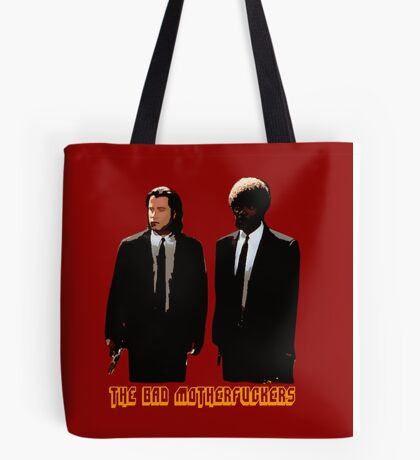The BAD MOTHERFUCKERS - PULP FICTION Tote Bag