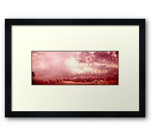 One More Time Framed Print