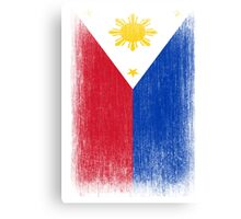 Philippines Flag Pacquiao Pride Canvas Print