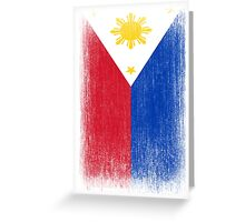 Philippines Flag Pacquiao Pride Greeting Card