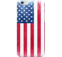 Grunge USA Flag iPhone Case/Skin