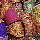 Marrakech - Cabas colorés by Jean-Luc Rollier