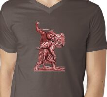 Werewolf Mens V-Neck T-Shirt