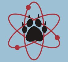 Carl Grimes Bear Paw and Atom (Red) T-Shirt - Comics Baby Tee