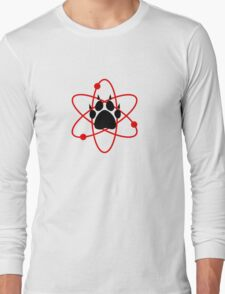Carl Grimes Bear Paw and Atom (Red) T-Shirt - Comics Long Sleeve T-Shirt