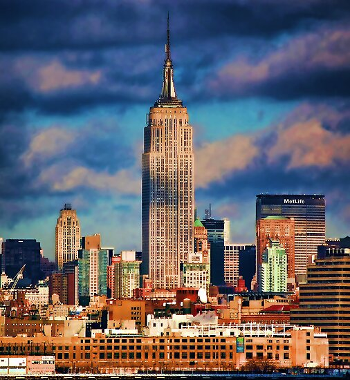 Empire State Building by Scott  Hudson