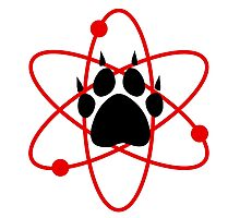 Carl Grimes Bear Paw and Atom (Red) T-Shirt - Comics Photographic Print