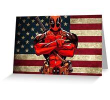 Deadpool for President Greeting Card