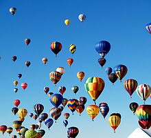 Gaggle of Balloons by Paul Albert