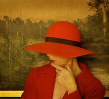 red hat by Soxy Fleming
