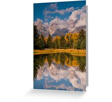 The Beaver Ponds Greeting Card