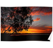 Sunset South Australia Poster