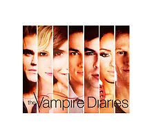 The Vampire Diaries Cast by netnetnet