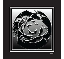 Monochrome bw Photographic Print