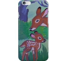 Doe and Fawn iPhone Case/Skin