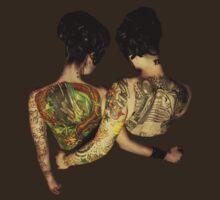 Siamese Twins  by PorcelainPoet