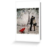 Amour à Paris Greeting Card