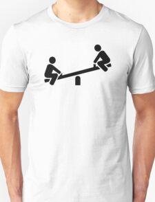Playground seesaw T-Shirt