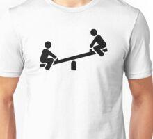 Playground seesaw Unisex T-Shirt