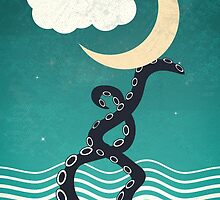 The octopus and the sea II (a lullaby) by metron