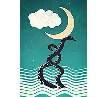 The octopus and the sea II (a lullaby) Photographic Print