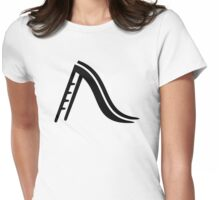 Playground slide Womens Fitted T-Shirt